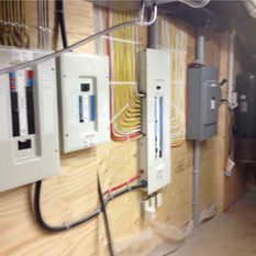Basement electrical wiring 2