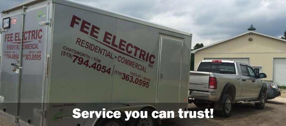Service you can trust truck