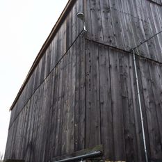 Barn outside electric wiring